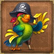 Настоящий Пиратский Попуган